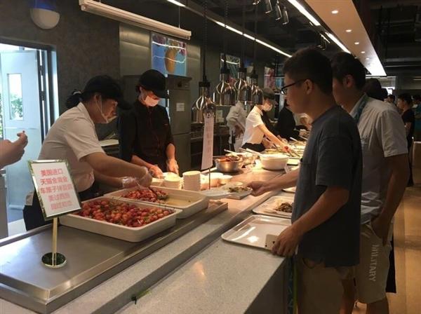"""阿里食堂现""""黑暗料理"""":进口车厘子拌豆腐"""
