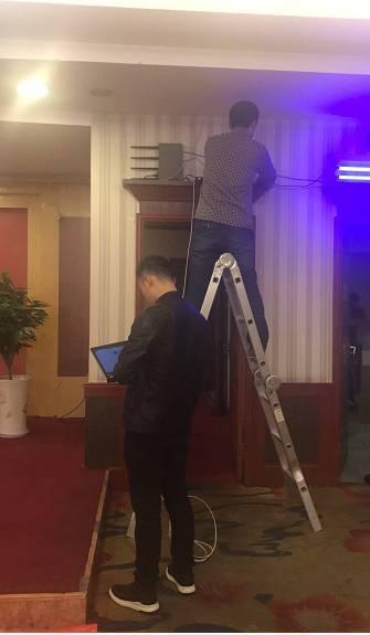 腾达面板AP W6-S助力西安中心戴斯酒店实现WiFi全覆盖